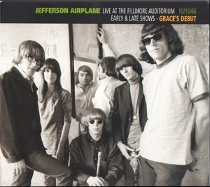 Live At The Fillmore Auditorium 10.16.66. Early & Late Shows - Grace's Debut