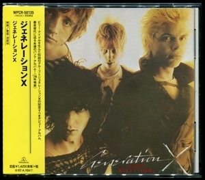 Generation X (warner Music Japan, Wpcr-50135)