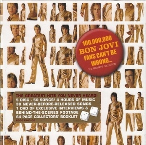 100,000,000 Bon Jovi Fans Can't Be Wrong (The Premiere Collection)