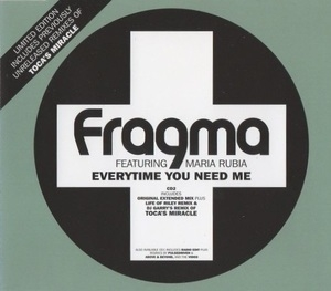 Everytime You Need Me (CD2) [CDS]