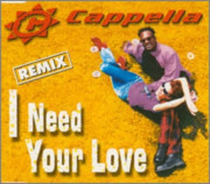 I Need Your Love (remix) (CDS)