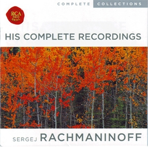 Sergej Rachmaninoff: His Complete Recordings (CD 10)