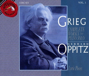 Complete Works for Piano Solo (Gerhard Oppitz) Vol.01 CD1