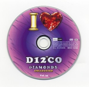 I Love Disco Diamonds Collection Vol. 34