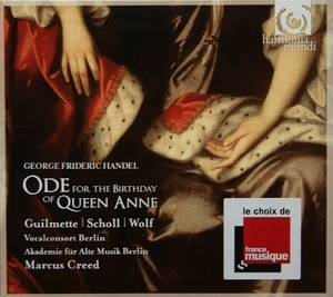 Handel - Ode For The Birthday Of Queen Anne & Dixit Dominus