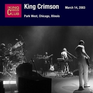 Park West, Chicago, Illinois. March 14, 2003