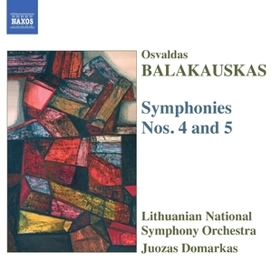 Symphonies No. 4, 5 - Lithuanian National So - Domarkas