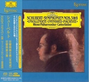 Symphony Nos. 3 & 8 'Unfinished' (Carlos Kleiber)