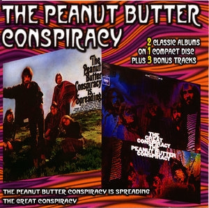 The Peanut Butter Conspiracy Is Spreading / The Great Conspiracy (1999, Collectables)