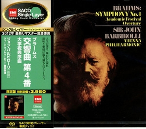 Symphony No. 4, Academic Festival Overture (2012 Remastered, Japan)