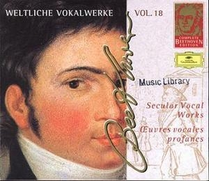 Complete Beethoven Edition Vol.18 - Secular Vocal Works (CD2)