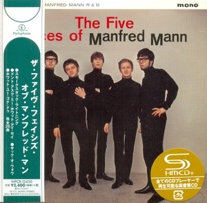 The Five Faces Of Manfred Mann UK