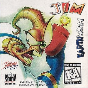 Earthworm Jim (Red Book Audio CD)