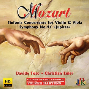 Mozart: Sinfonia Concertante In E-flat Major & Symphony No. 41 'jupiter'