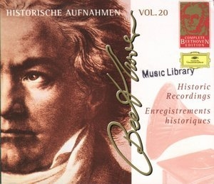 Beethoven Complete Edition - Historic Recordings Vol.20 (CD1)