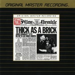 Thick as a Brick (MFSL Remastered)