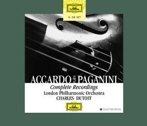 Accardo Plays Paganini (cd 3)
