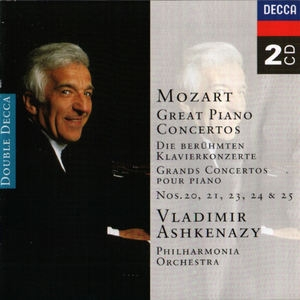 Great Piano Concertos Nos. 20, 21, 23, 24 & 25 (CD1)