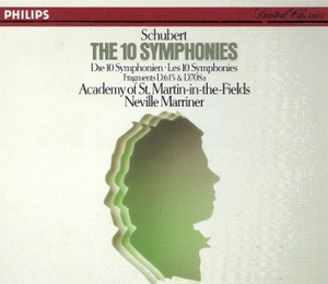 Schubert - The 10 Symphonies - Neville Marriner & ASMF (1984 Philips)(CD4)