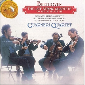 Beethoven - The Late String Quartets (CD1)