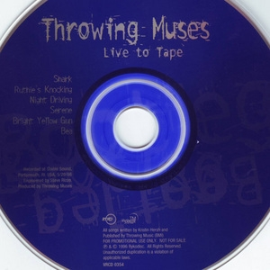 Live to Tape