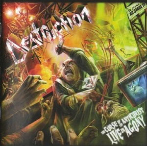 The Curse Of The Antichrist-live In Agony(CD2)