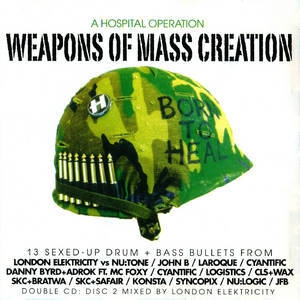 Weapons Of Mass Creation CD2 mixed by London Elektricity