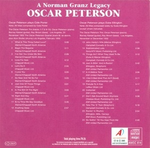 Songbooks Etcetera [disc 1- Plays Cole Porter & Duke Ellington]