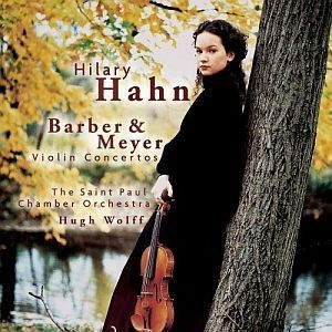 Barber & Meyer Violin Concertos