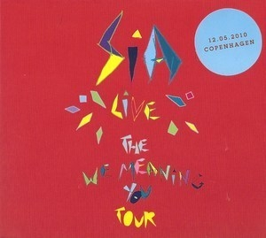 Live - The We Meaning You Tour (Copenhagen 12.05.2010) (CD1)