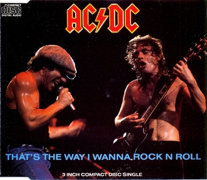 That's The Way I Wanna Rock 'n' Roll [CDS]