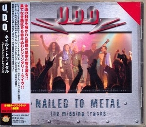 Nailed To Metal (the Missing Tracks) [kicp 975] Japan