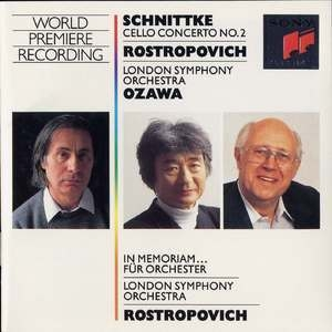 Alfred Schnittke - Cello Concerto No. 2 And In Memoriam...