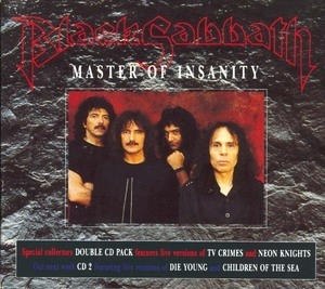 Master Of Insanity (Double Digipack Box)