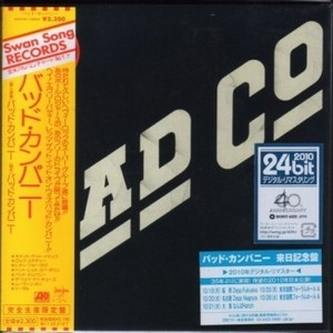 Bad Co (Japan Mini Lp 1974)