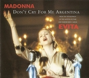 Don't Cry For Me Argentina [CDS]
