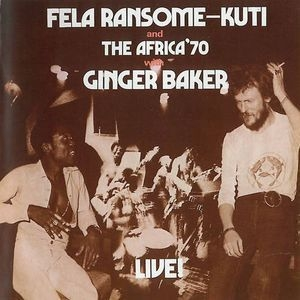 Fela  With Ginger Baker Live