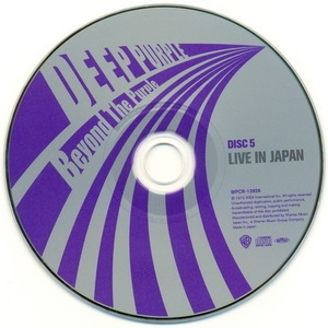 Live In Japan (Beyond The Purple - 10CD Box Set Japan 2010)