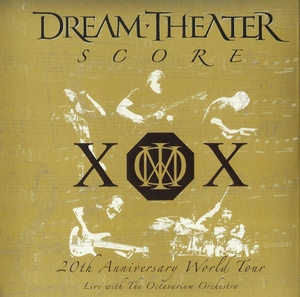 Score: 20th Anniversary World Tour - Live With The Octavarium Orchestra (3 CD)