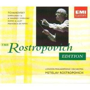 Tchaikovsky: Complete Symphonies (disc 5)
