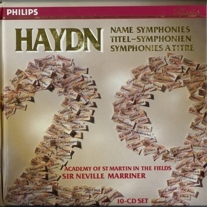 Symphonien Nr. 6 - 8 & 22 'philosoph' (marriner, Academy Of St.martin-in-the-...