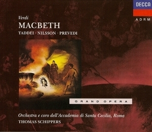 Macbeth (Taddei, Nilsson, Prevedi) (2CD)