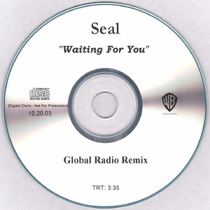 Waiting For You [global Radio Remix] (cd Single Promo)