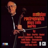 Mstislav Rostropovich - Rostropovich Plays Cello Works (CD01) '2008