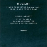 Keith Jarrett - Mozart. Piano Concertos K.271, 453, 466, Adagio And Fugue K.546 '1999