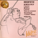 Jascha Heifetz - The Heifetz Collection, Vol.21: Korngold / Rozsa / Waxman '1994