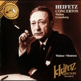 Jascha Heifetz - The Heifetz Collection, Vol.23: Walton / Gruenberg '1994