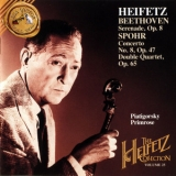 Jascha Heifetz - The Heifetz Collection, Vol.25: Beethoven / Spohr '1994