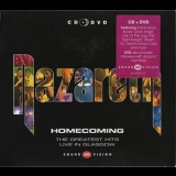Nazareth - Homecoming. The Greatest Hits. Live In Glasgow (Salvo, EU, UK, SALVOSVX013) '2002