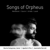 Karim Sulayman, Apollo's Fire & Jeannette Sorrell - Songs Of Orpheus '2018